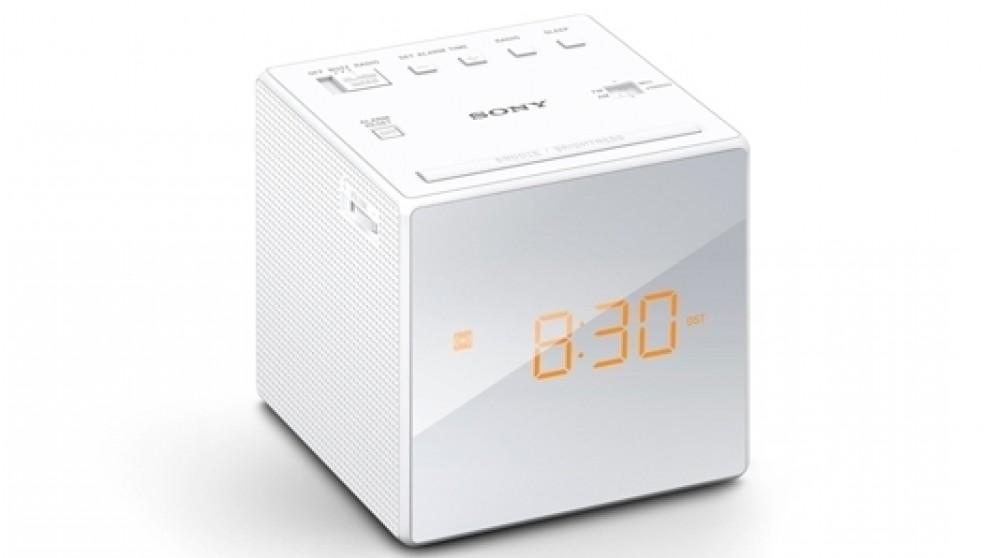 Sony ICF-C1 FM/AM Clock Radio - White