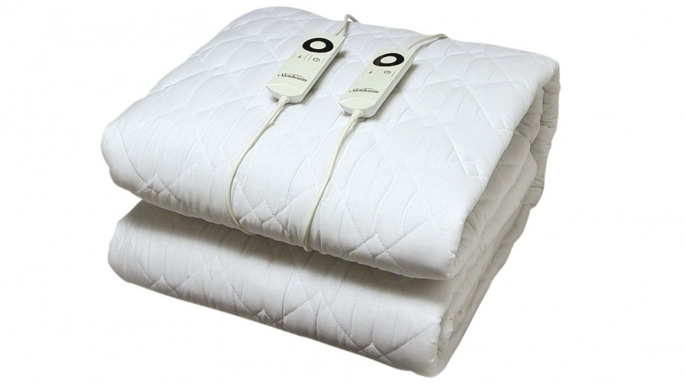 Buy Sunbeam Sleep Perfect Quilted Electric Blanket Queen Bed - Quilted-blankets-for-the-bed