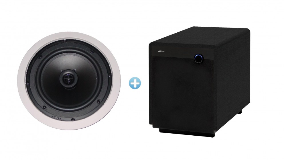 Jamo 8.5CS T In-Ceiling Speaker Pack with SUB300 Subwoofer
