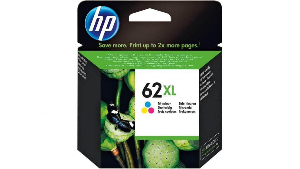 HP 62 XL High Yield Tri-Colour Original Ink Cartridge