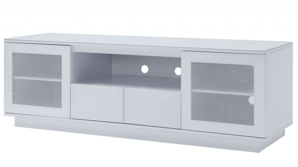 Tauris Titan 1800mm TV Cabinet - White