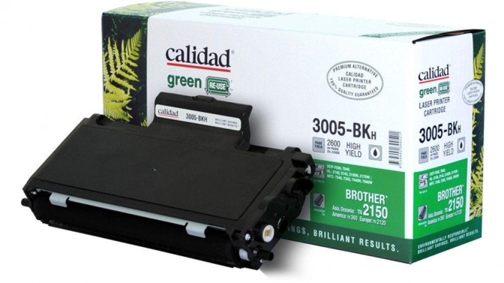 Calidad High Yield Toner Cartridge for Brother TN2150