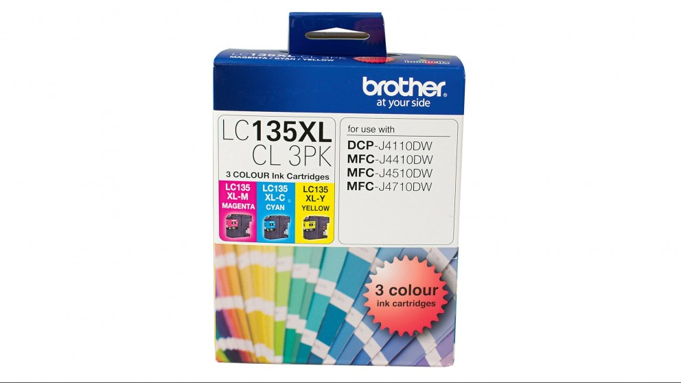 Brother High Yield Triple Pack Cyan, Magenta & Yellow