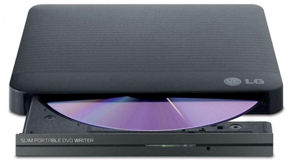 LG Super-Multi Portable DVD Rewriter - Black