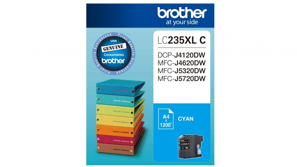 Brother LC235XLC Ink Cartridge - Cyan