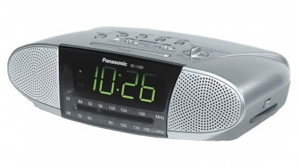 Panasonic Dual Speaker Clock Radio