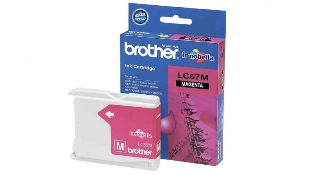 Brother LC-57M Magenta Colour Ink Cartridge