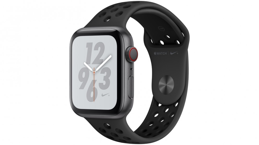 Apple Watch Nike+ Series 4 - 44mm Space Grey Aluminium Case with  Anthracite/Black Nike Sport Band - GPS + Cellular
