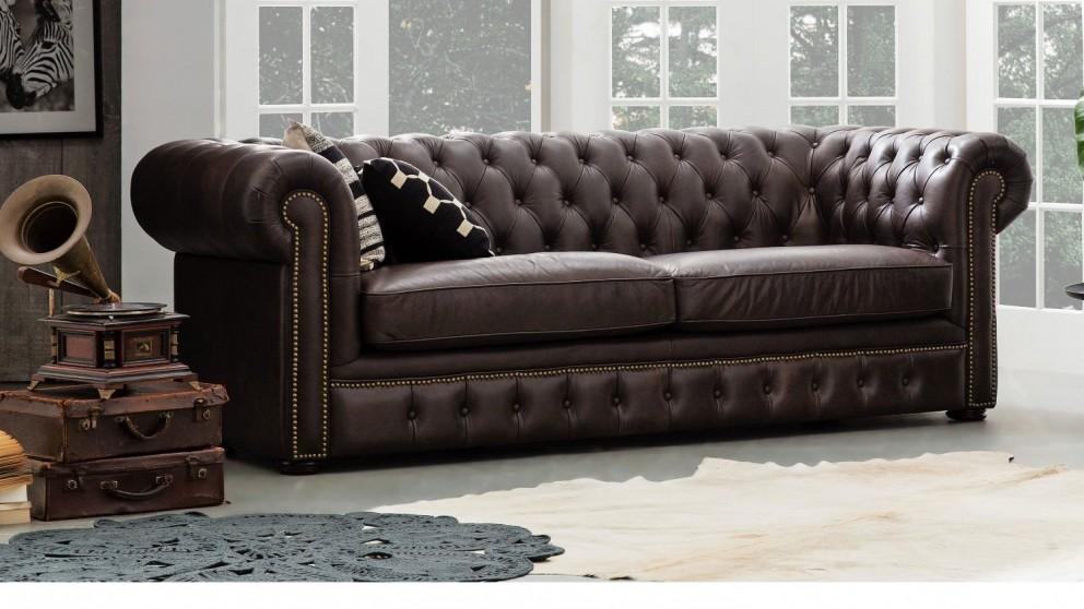 Wiltshire Leather Sofa