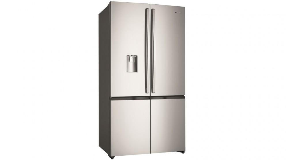 Westinghouse 600L Stainless Steel 4 Door French Door Fridge with Ice & Water Dispenser