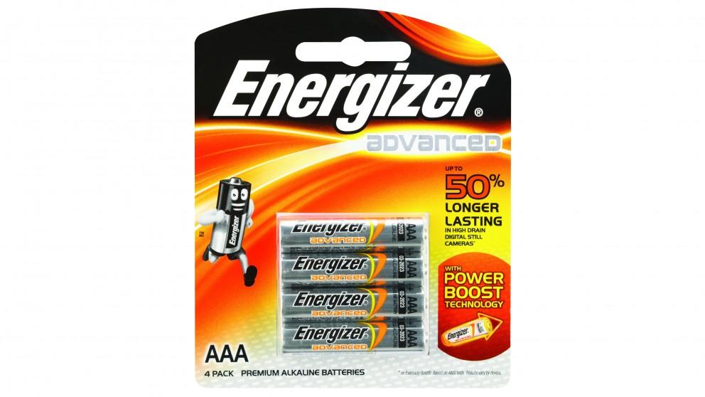 Energizer Advanced AAA Titanium Battery - 4 Pack