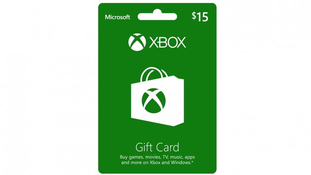 Xbox Live $15 Gift Card