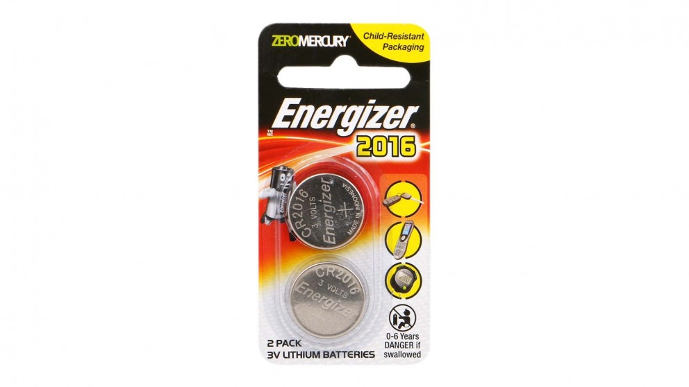 Energizer Lithium Coin 2016 Batteries