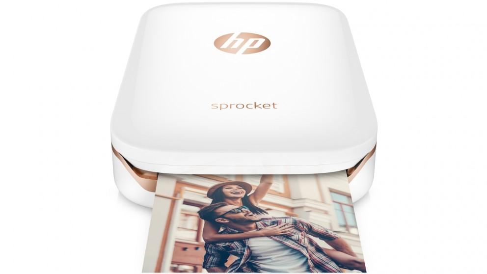 HP Sprocket Photo Printer - White
