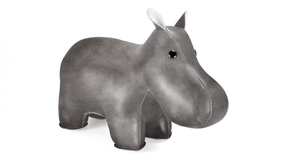 Zuny Shine Hippo Bookend