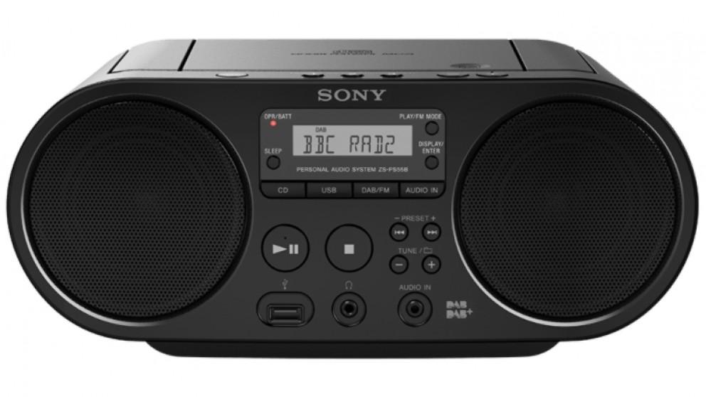 Sony CD Boombox Portable DAB+/FM Radio