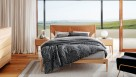 Linen House Abigail Charcoal Quilt Cover Set