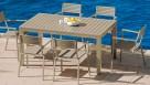 Breeze Aluminium Rectangular Dining Table