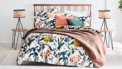 Luxury Livia Duvet Set Floral Duvet//Quilt Cover Set Bed Set Bedding Pillow Case
