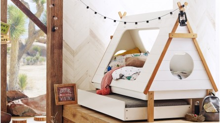 Tee Pee Kids Trundle Bed & Kids Beds - Bunk Beds Bed Frames Trundle Bed Air Mattress