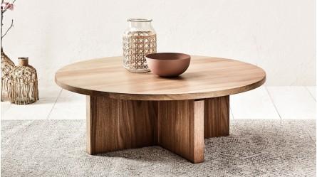 Coffee Tables Glass Wood Nesting Domayne Australia