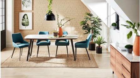 Coco Dining Table With Ceramic Top