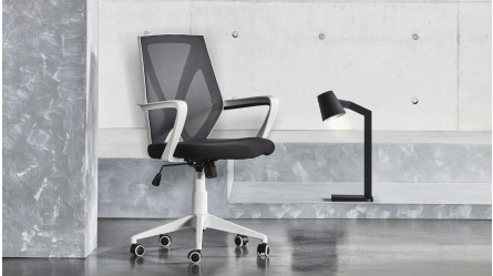 Home Office Chairs White Black Domayne Australia