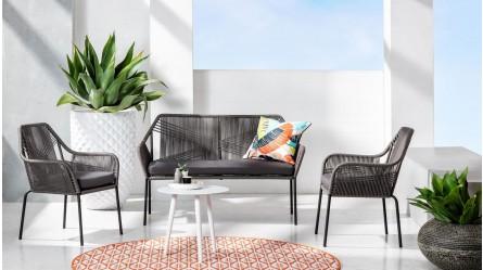Peachy Outdoor Lounge Chairs Domayne Australia Interior Design Ideas Gentotryabchikinfo