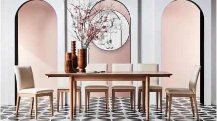 Dining Tables Round Marble Wood Domayne Australia