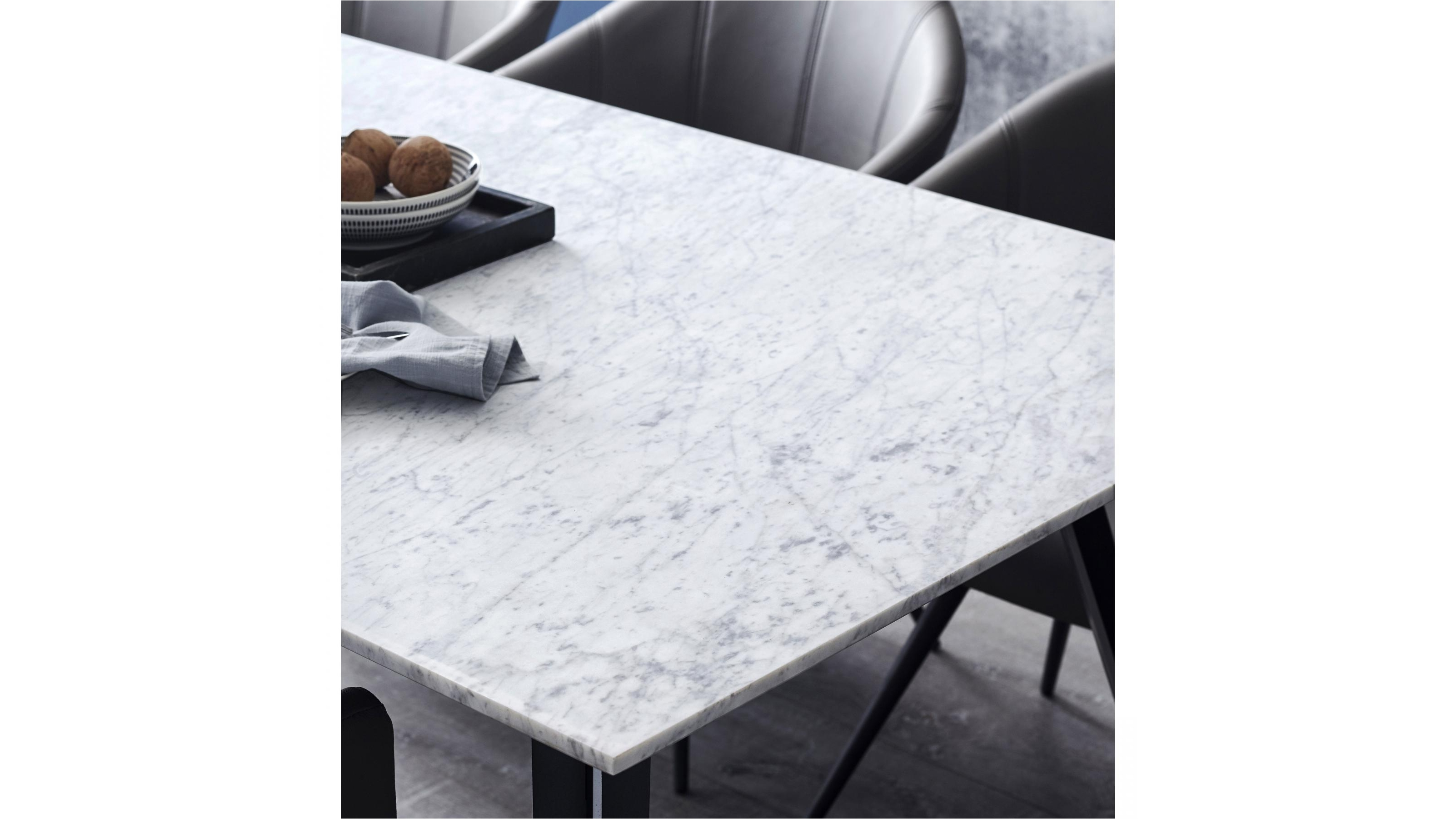 Buy Duomo Marble Rectangle Dining Table | Domayne AU