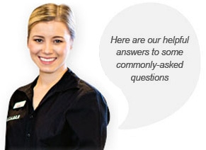 Here are our helpful answers to some commonly-asked questions